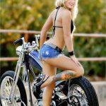 Great Looking Chopper Blonde