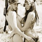 Two Girls, Two Guns