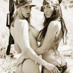 Two Girls, Two Guns